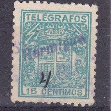 Sellos: MM17-TELÉGRAFOS USADO HERMIGUA TENERIFE CANARIAS. Lote 295509603