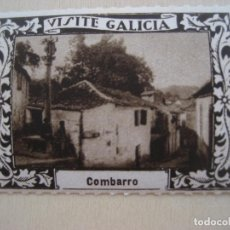 Sellos: VIÑETA VISITE GALICIA. 1929. COMBARRO. 5 X 4 CMS. LUIS CASADO FERNANDEZ FOT.. Lote 296692073