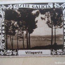 Sellos: VIÑETA VISITE GALICIA. 1929. VALLAGARCIA. 5 X 4 CMS. LUIS CASADO FERNANDEZ FOT.. Lote 296692183