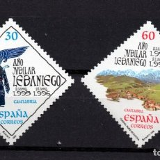 Sellos: ESPAÑA 3354/55** - AÑO 1995 - AÑO JUBILAR LEBANIEGO. Lote 296710648