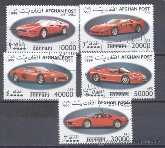 AFGANISTAN 1999, FERRARIS- PREOBLITERADO (Sellos - Extranjero - Asia - Afganistán)