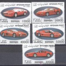 Sellos: AFGANISTAN 1999, FERRARIS- PREOBLITERADO. Lote 23166694