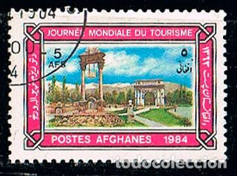 AFGANISTAN 1403, DIA MUNDIAL DEL TURISMO, USADO (Sellos - Extranjero - Asia - Afganistán)