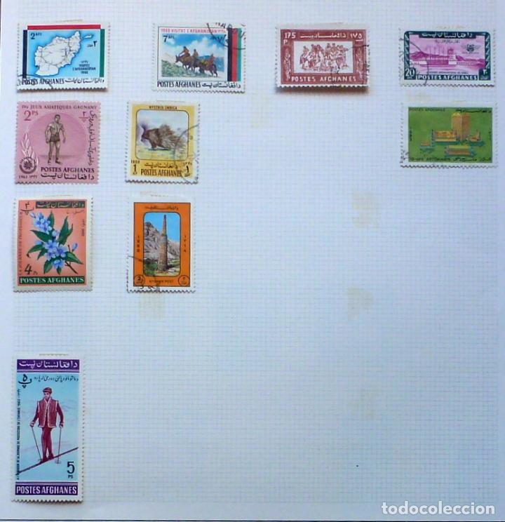AFGANISTAN- 10 SELLOS USADOS (Briefmarken - Internationale - Asien - Afghanistan)