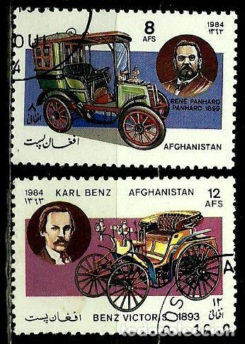 AFGANISTAN YV 1184-86 (AUTOS ANTIGUOS) (Sellos - Extranjero - Asia - Afganistán)