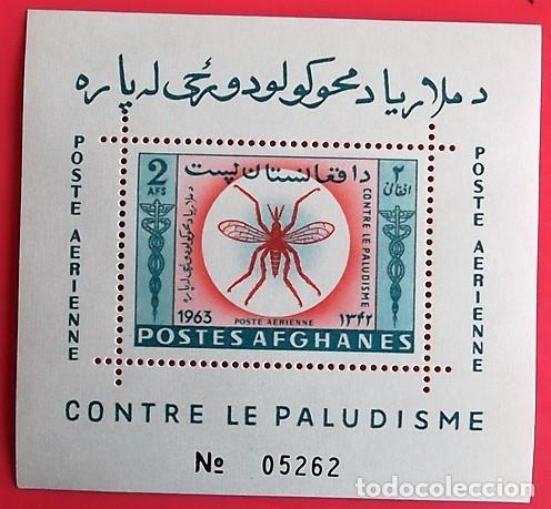 AFGANISTÁN. A 52R ERRADICACIÓN DEL PALUDISMO EN HB. 1964, SELLOS USADOS Y NUMERACIÓN YVERT (Sellos - Extranjero - Asia - Afganistán)