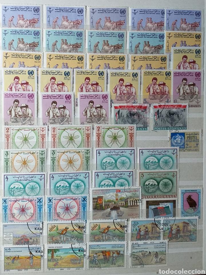 Sellos: Colección de sellos de Afganistán en álbum de 8 páginas - Foto 6 - 201160392