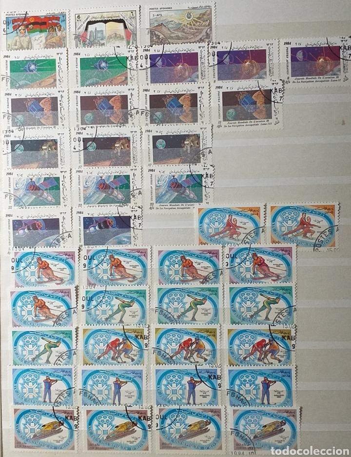 Sellos: Colección de sellos de Afganistán en álbum de 8 páginas - Foto 7 - 201160392