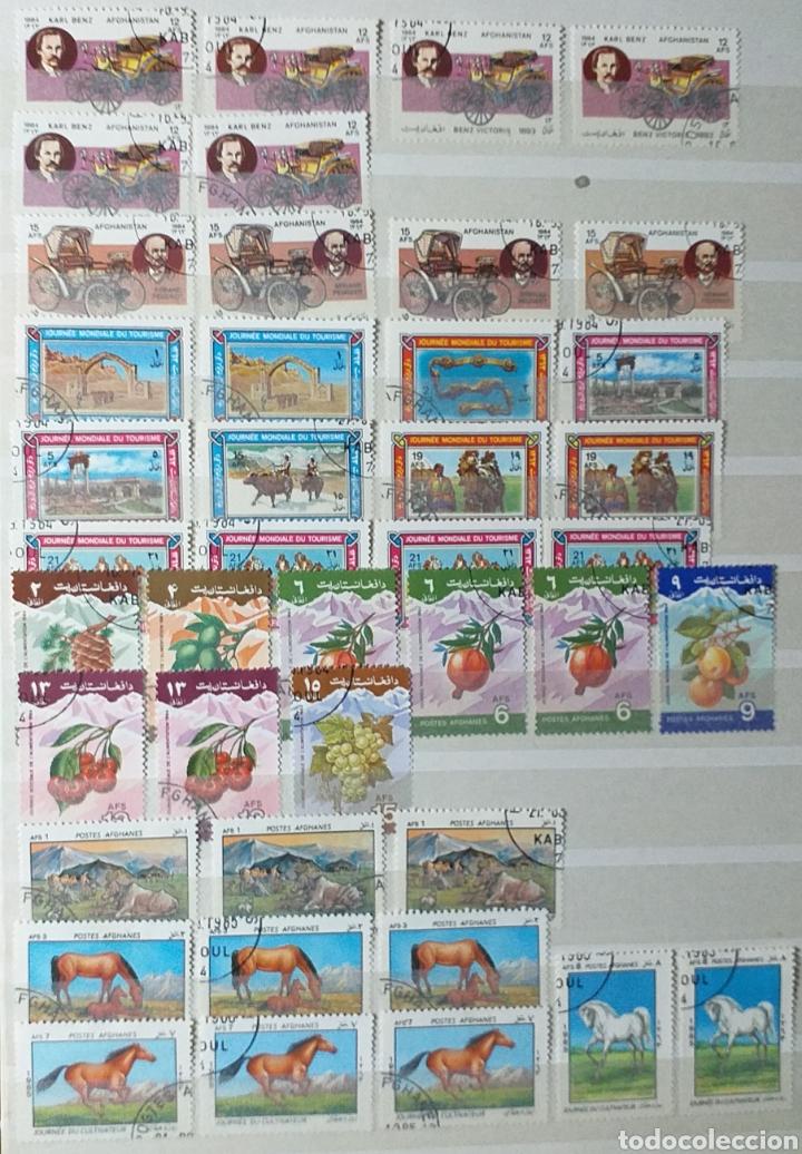 Sellos: Colección de sellos de Afganistán en álbum de 8 páginas - Foto 10 - 201160392