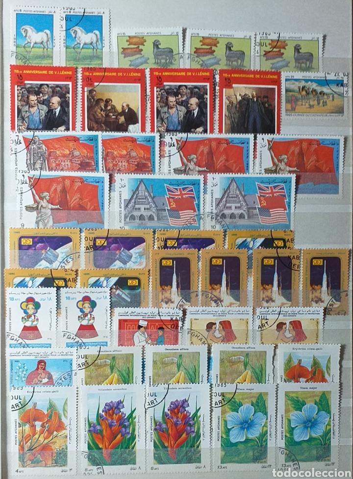 Sellos: Colección de sellos de Afganistán en álbum de 8 páginas - Foto 11 - 201160392