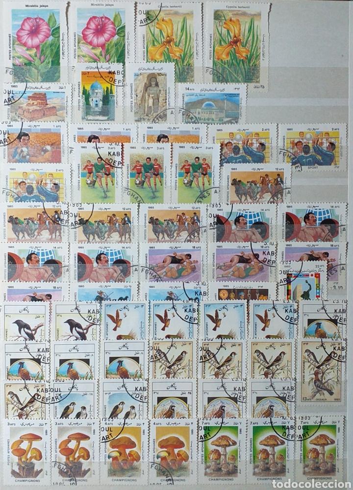 Sellos: Colección de sellos de Afganistán en álbum de 8 páginas - Foto 12 - 201160392
