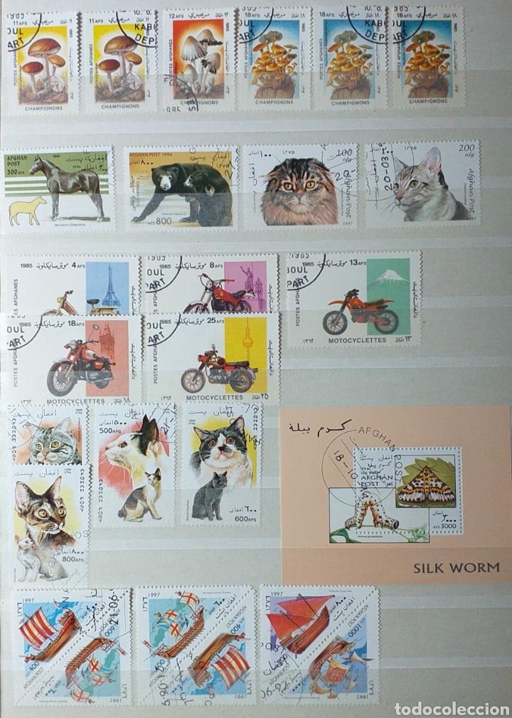 Sellos: Colección de sellos de Afganistán en álbum de 8 páginas - Foto 13 - 201160392