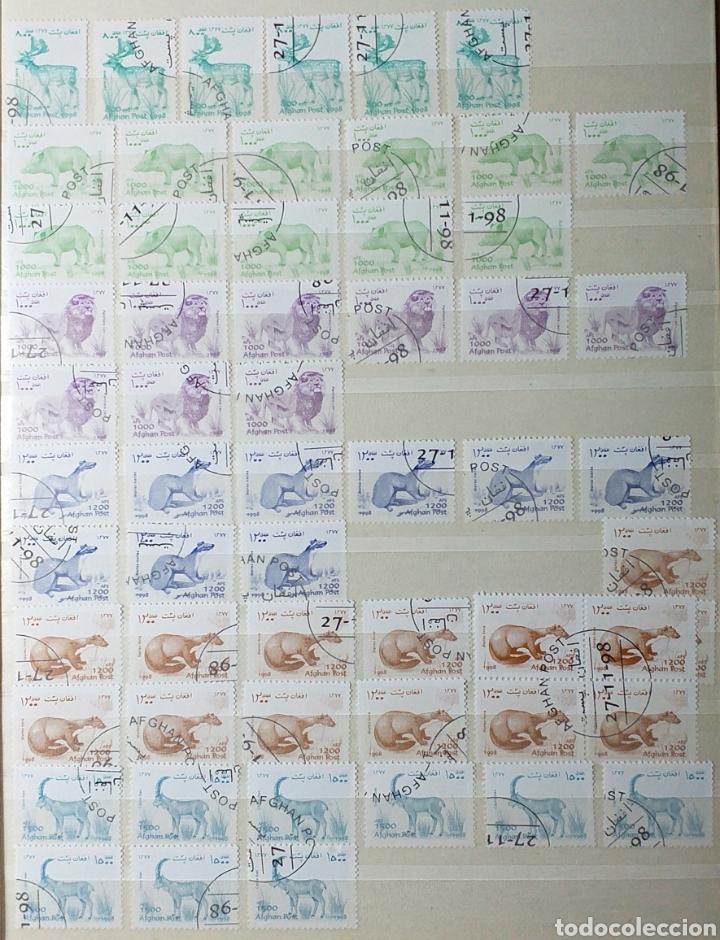 Sellos: Colección de sellos de Afganistán en álbum de 8 páginas - Foto 15 - 201160392