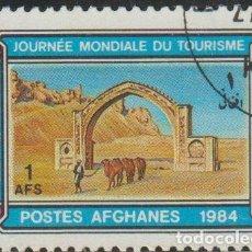 Sellos: AFGANISTAN 1984 MICHEL 1104 SELLO * DIA MUNDIAL DEL TURISMO ARQUITECTURA ARCO DE QALAI BUST M. 1369. Lote 214803332