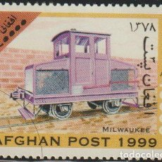 Sellos: AFGANISTAN 1999 MICHEL 1852 SELLO * TRENES LOCOMOTORAS MILWAUKEE RAILWAY 0-4-0 DIESEL LOCOMOTIVE. Lote 215244930