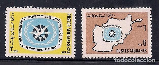 AFGANISTAN 1967 - AÑO DEL TURISMO - YVERT Nº 834/35** (Sellos - Extranjero - Asia - Afganistán)