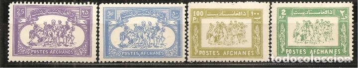 AFGANISTÁN, DEPORTES 1960, NUEVO, SIN SEÑAL DE FIJASELLOS (Sellos - Extranjero - Asia - Afganistán)