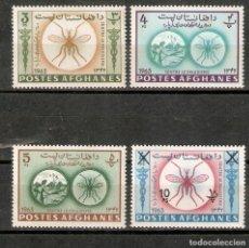 Francobolli: AFGANISTAN. 1964. MOSQUITO. MALARIA. PALUDISMO.. Lote 260056310