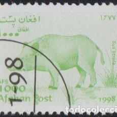 Sellos: AFGANISTAN 1998 MICHEL 1830 SELLO * FAUNA WILDLIFE JABALI WILD BOAR (SUS SCROFA) POSTES AFGHANES. Lote 262703125