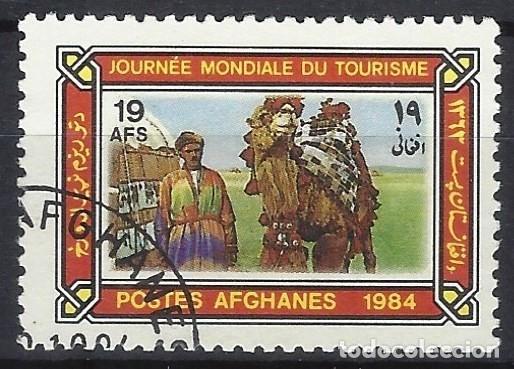 AFGANISTÁN 1984 - DÍA MUNDIAL DEL TURISMO - USADO (Sellos - Extranjero - Asia - Afganistán)