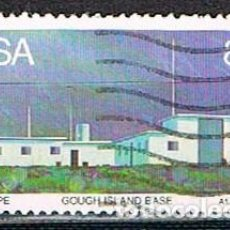 Sellos: SUDAFRICA Nº 664, ESTACION METEOROLOGICA DE GOUGH ISLAND, USADO. Lote 288396963