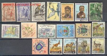 ANGOLA (18) (Sellos - Extranjero - África - Angola)