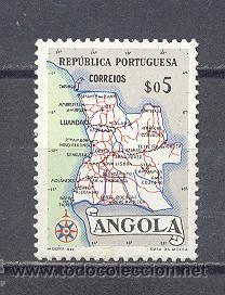 ANGOLA, NUEVO, CON GOMA (Sellos - Extranjero - África - Angola)