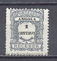 ANGOLA, NUEVO, SIN GOMA (Sellos - Extranjero - África - Angola)