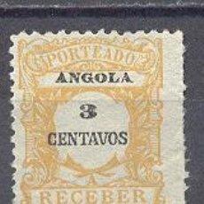 Sellos: ANGOLA, NUEVO, SIN GOMA. Lote 22598716
