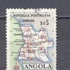 Sellos: ANGOLA- MAPA. Lote 24526248