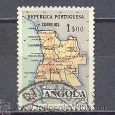 Sellos: ANGOLA- MAPA. Lote 24526254