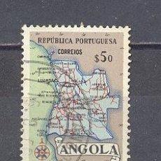 Sellos: ANGOLA- MAPA. Lote 24526283