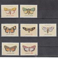 Sellos: ANGOLA 680/6 SIN CHARNELA, FAUNA, MARIPOSAS, . Lote 26588649