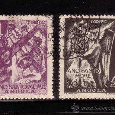 Sellos: ANGOLA 326/27 - AÑO 1950 - AÑO SANTO. Lote 130368683