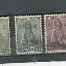 Sellos: SELLOS ANTIGUOS ANGOLA AFRICA . Lote 37199565