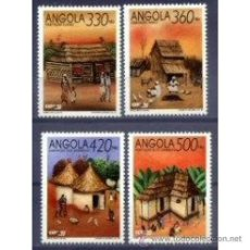 Sellos: ANGOLA 1992 858 861 EN CARNET NUEVO LUJO EXPO 92 SEVILLA MNH *** SC. Lote 48447603