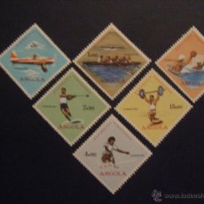Timbres: ANGOLA Nº YVERT 436/1*** AÑO 1962. DEPORTES DIVERSOS. Lote 52471802