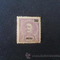 Sellos: ANGOLA,COLONIA PORTUGUESA,1898-1901,D.CARLOS ,AFINSA 52, SCOTT 60,NUEVO,POCA GOMA,PUNTOS OXIDO. Lote 54161427