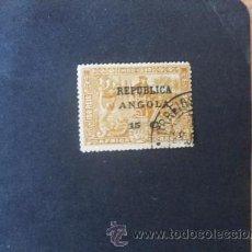 Sellos: ANGOLA PORTUGUESA,1913,4º CENT.CAMINO INDIA,VASCO GAMA(AFRICA),AFINSA 125,SCOTT 199,USADO. Lote 54251316