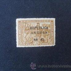 Sellos: ANGOLA PORTUGAL,1913,4º CENT.CAMINO INDIA,VASCO GAMA(MACAO),AFINSA 133*,SCOTT 191*,NUEVO,FIJASELLO. Lote 54298503
