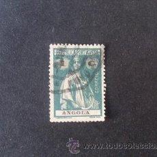 Sellos: ANGOLA PORTUGUESA,1914,CERES,AFINSA 144,SCOTT 121,DENT.15 X 14,PAPEL PONTINHADO,USADO. Lote 54299524