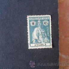 Sellos: ANGOLA PORTUGUESA,1914,CERES,AFINSA 144,SCOTT 121,DENT.15 X 14,PAPEL PONTINHADO,USADO. Lote 54299547