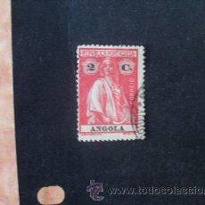 Sellos: ANGOLA PORTUGUESA,1914,CERES,AFINSA 146,SCOTT 123,DENT.15 X 14,USADO,PAPEL PONTINHADO. Lote 54299739