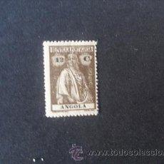 Sellos: ANGOLA,COLONIA PORTUGUESA,1921-1922,CERES,AFINSA 205*,SCOTT 136*,DENT. 15 X 14,NUEVO,FIJASELLO. Lote 54416251