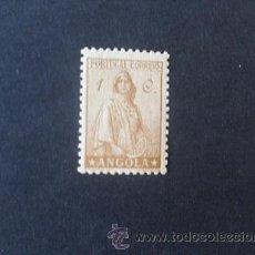 Sellos: ANGOLA,COLONIA PORTUGUESA,1932,CERES NUEVO TIPO,AFINSA 228*,SCOTT 243*,NUEVO,SEÑAL FIJASELLO. Lote 54443939