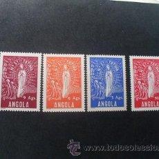 Sellos: ANGOLA,COLONIA PORTUGUESA,1948,NTR.SRA.FATIMA,AFINSA 302-305*,SCOTT 315-318*,COMPLETA,NUEVOS,FIJASEL. Lote 54655200