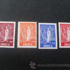 Sellos: ANGOLA,COLONIA PORTUGUESA,1948,NTR.SRA.FATIMA,AFINSA 302-305*,SCOTT 315-318*,COMPLETA,NUEVOS,FIJASEL. Lote 54655239