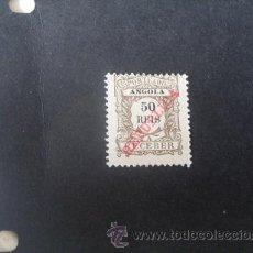 Sellos: ANGOLA PORTUGUESA,1911,PORTEADO,SOBRECARGA REPUBLICA,AFINSA 15*,SCOTT J15*,NUEVO,FIJASELLO. Lote 54844176