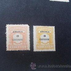 Sellos: ANGOLA,COLONIA PORTUGUESA,1911,PORTEADO,AFINSA 24,SCOTT J24,VARIEDAD COLOR,NUEVOS SIN GOMA. Lote 54846928