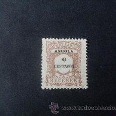 Sellos: ANGOLA,COLONIA PORTUGUESA,1911,PORTEADO,AFINSA 26,SCOTT J26,NUEVO SIN GOMA. Lote 54847088